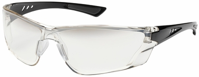 Bouton Recon Safety Glasses with Black Temple and Gradient I/O Anti-Fog Lens