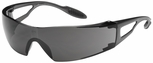 Bouton Xtreme Safety Glasses with Gray Lens