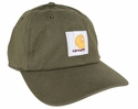 Carhartt Signature Canvas WorkFlex Cap, Army Green