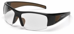 Carhartt Thunderbay Safety Glasses with Black Frame and Clear Anti-Fog Lenses