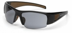 Carhartt Thunderbay Safety Glasses with Black Frame and Gray Anti-Fog Lenses