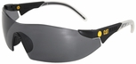 CAT Dozer Safety Glasses with Black Frame and Smoke Lens
