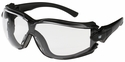 CAT Torque Safety Glasses with Black Frame and Clear Lens