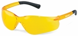 Crews BearKat 3 Safety Glasses with Amber Lenses