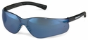 Crews BearKat 3 Safety Glasses with Blue Mirror Lens