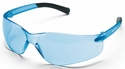 Crews BearKat Small Safety Glasses with Light Blue Lens