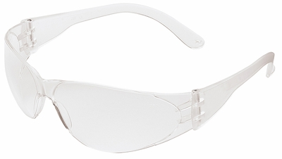 Crews Checklite Safety Glasses with Clear Lens