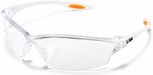 Crews Law 2 Safety Glasses with Clear Anti-Fog Lens