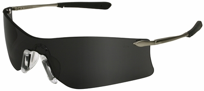 Crews Rubicon Safety Glasses with Gray Anti-Fog Lens