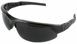 Crews VL Safety Glasses with Black Frame and 5.0 IR Lens