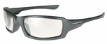 Crossfire M6A Safety Glasses with Pearl Gray Frame and Indoor-Outdoor Lens