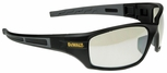 DeWalt Auger Safety Glasses with Black/Gray Frame and Indoor/Outdoor Lens