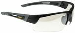 DeWalt Crosscut Safety Glasses with Black/Gray Frame and Indoor/Outdoor Lens