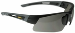 DeWalt Crosscut Safety Glasses with Black/Gray Frame and Smoke Lens