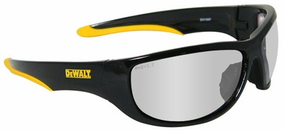 DeWalt Dominator Safety Glasses with Black Frame and Indoor-Outdoor Lens