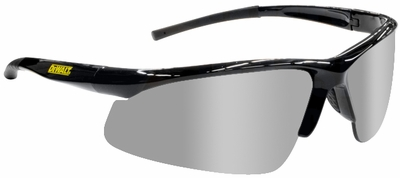 DeWalt Radius Safety Glasses with Silver Mirror Lens