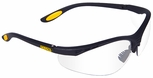 DeWalt Reinforcer Safety Glasses with Clear Anti-Fog Lens