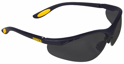 DeWalt Reinforcer Safety Glasses with Smoke Lens