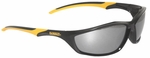 DeWalt Router Safety Glasses with Black Frame and Silver Mirror Lenses