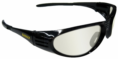 DeWalt Ventilator Safety Glasses with Black Frame and Indoor-Outdoor Lens