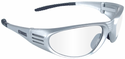 DeWalt Ventilator Safety Glasses with Silver Frame and Clear Lens