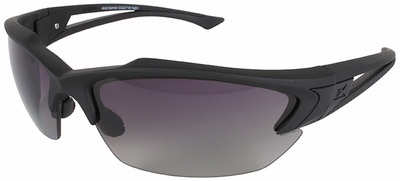 Edge Acid Gambit Tactical Safety Glasses with Black Frame and Gradient Polarized Lens