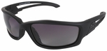 Edge Blade Runner Tactical Safety Glasses with Black Frame and Gradient Polarized Lens