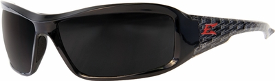 Edge Brazeau Designer Series with Black Vigilante1 Frame and Smoke Lens