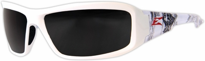 Edge Brazeau Designer Series with White Velocity2 Frame and Smoke Lens