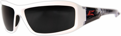 Edge Brazeau Designer Series with White Vigilante2 Frame and Smoke Lens