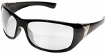 Edge Civetta Women's Ballistic Safety Glasses with Black Frame and Clear Lens