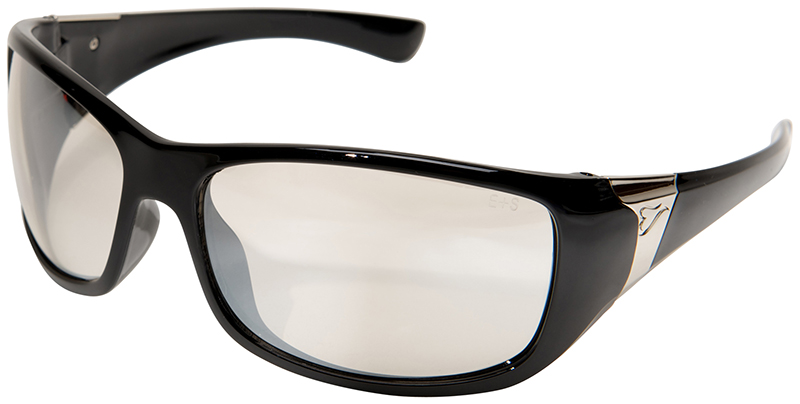 womens oakley safety glasses  edge civetta women s ballistic safety glasses with black frame and indoor outdoor lens 1