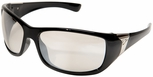 Edge Civetta Women's Ballistic Safety Glasses with Black Frame and Indoor/Outdoor Lens