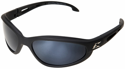 Edge Dakura Polarized Safety Glasses with G15 Silver Mirror Lens