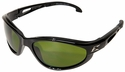 Edge Dakura Safety Glasses with Black Frame and Shade 3 Lens
