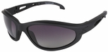 Edge Falcon Tactical Safety Glasses with Black Frame and Gradient Polarized Lens