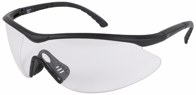Edge Fast Link Tactical Safety Glasses with Black Frame and Clear Lens