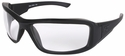 Edge Hamel Tactical Safety Glasses with Black Frame and Clear Lens