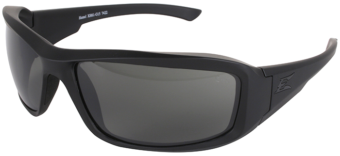 Edge Hamel Tactical Safety Glasses with Black Frame and G-15 Lens