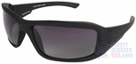 Edge Hamel Tactical Safety Glasses with Black Frame and Gradient Polarized Lens