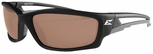 Edge Kazbek Polarized Safety Glasses with Matte Black Frame and Copper Driving Lens