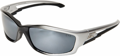 Edge Kazbek Safety Glasses with Silver Mirror Lens