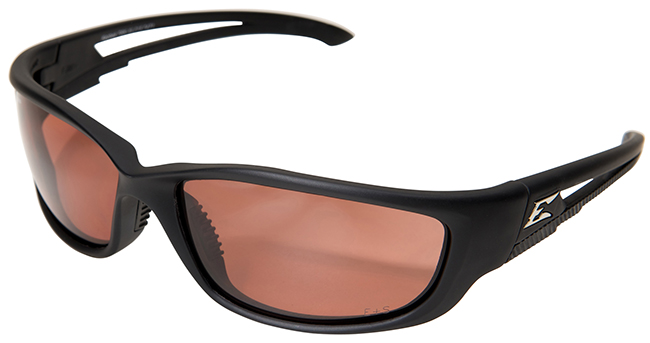 Edge Kazbek XL Polarized Safety Glasses with Copper Driving Lens