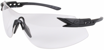 Edge Notch Tactical Safety Glasses with Clear Lens