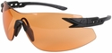Edge Notch Tactical Safety Glasses with Tiger's Eye Lens