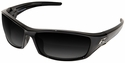 Edge Reclus Polarized Safety Glasses with Black Frame Gray Gradient Lens