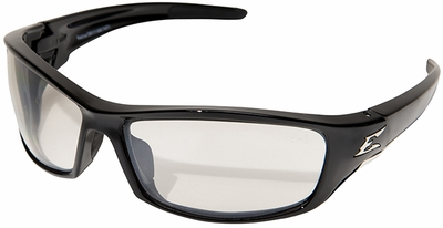 Edge Reclus Safety Glasses with Black Frame and Indoor-Outdoor Lens