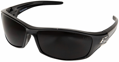 Edge Reclus Safety Glasses with Black Frame and Smoke Lens