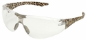 Elvex Avion SlimFit Safety Glasses with Leopard Temples and Clear Lens