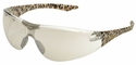 Elvex Avion SlimFit Safety Glasses with Leopard Temples and Indoor/Outdoor Lens